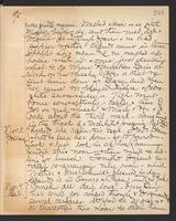 May Bragdon Diary, November 7, 1895 – November 9, 1895, p. 245