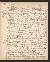 May Bragdon Diary, November 12, 1895 – November 14, 1895, p. 247