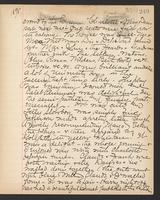 May Bragdon Diary, November 15, 1895, p. 249