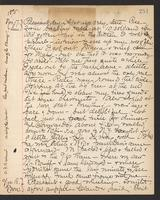 May Bragdon Diary, November 17, 1895 – November 18, 1895, p. 251