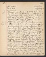 May Bragdon Diary, January 8, 1896 – January 9, 1896, p. 277