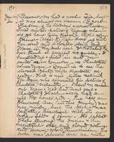 May Bragdon Diary, January 12, 1896, p. 279