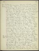 May Bragdon Diary, April 9, 1897 – April 10, 1897, p. 21