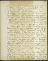 May Bragdon Diary, August 7, 1897 – August 12, 1897, p. 141