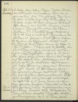 May Bragdon Diary, October 31, 1897 – November 6, 1897, p. 186