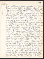 May Bragdon Diary, November 27, 1897, p. 211