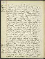 May Bragdon Diary, December 8, 1897 – December 14, 1897, p. 218