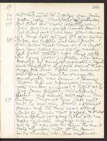 May Bragdon Diary, March 14, 1898 – March 18, 1898, p. 243