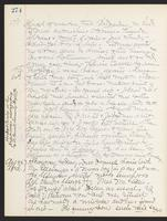 May Bragdon Diary, August 17, 1898 – August 24, 1898, p. 274