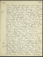 May Bragdon Diary, November 7, 1898 – November 10, 1898, p. 299