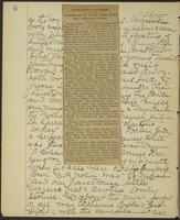 Occluded Image of May Bragdon Diary, March 3, 1893, p. 6
