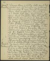 May Bragdon Diary, March 9, 1893 – March 10, 1893, p. 12