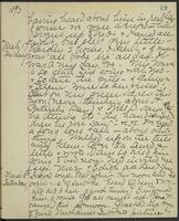 May Bragdon Diary, March 16, 1893 – March 18, 1893, p. 19