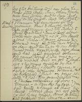 May Bragdon Diary, March 18, 1893 – March 19, 1893, p. 21