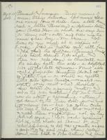 May Bragdon Diary, August 22, 1896, p. 165