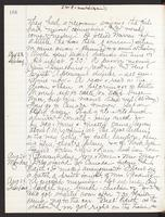 May Bragdon Diary, August 22, 1896 – August 25, 1896, p. 166