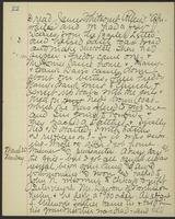 May Bragdon Diary, March 19, 1893 – March 20, 1893, p. 22