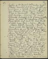 May Bragdon Diary, March 20, 1893, p. 23