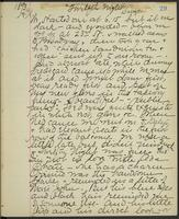 May Bragdon Diary, March 21, 1893, p. 29