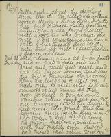 May Bragdon Diary, March 22, 1893 – March 23, 1893, p. 41