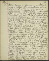 May Bragdon Diary, March 23, 1893, p. 43