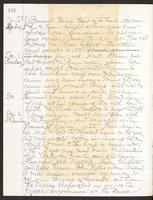 May Bragdon Diary, November 30, 1896 – December 2, 1896, p. 242