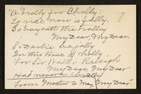 Inclusion, May Bragdon Diary, December 24, 1896 – December 26, 1896, p. 257