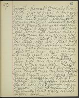 May Bragdon Diary, April 21, 1893, p. 67