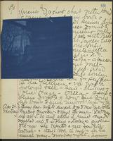 Occluded Image of May Bragdon Diary, April 23, 1893 – April 24, 1893, p. 69