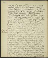 May Bragdon Diary, May 12, 1893 – May 13, 1893, p. 84