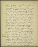 May Bragdon Diary, July 19, 1899 – July 20, 1899, p. 78