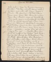 May Bragdon Diary, July 30, 1899 – August 5, 1899, p. 84