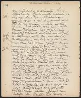 May Bragdon Diary, November 4, 1899 – November 10, 1899, p. 104