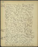 May Bragdon Diary, January 20, 1900 – January 25, 1900, p. 122