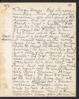 May Bragdon Diary, May 29, 1893 – May 30, 1893, p. 97