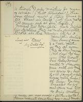 Occluded Image of May Bragdon Diary, June 1, 1893 – June 2, 1893, p. 97