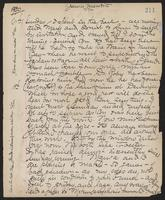 May Bragdon Diary, November 11, 1900 – November 19, 1900, p. 211