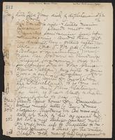 May Bragdon Diary, December 1, 1900 – December 24, 1900, p. 212