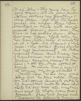 May Bragdon Diary, June 19, 1893, p. 137