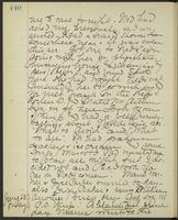 May Bragdon Diary, June 22, 1893 – June 23, 1893, p. 140