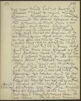 May Bragdon Diary, June 25, 1893 – June 26, 1893, p. 143