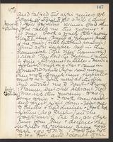 May Bragdon Diary, June 29, 1893 – July 1, 1893, p. 147