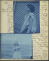 Occluded Image of May Bragdon Diary, June 29, 1893 – July 1, 1893, p. 147