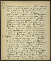 May Bragdon Diary, July 7, 1901 – August 17, 1901, p. 260