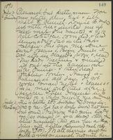 May Bragdon Diary, July 2, 1893 – July 3, 1893, p. 149