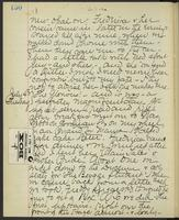 Occluded Image of May Bragdon Diary, July 3, 1893 – July 4, 1893, p. 150