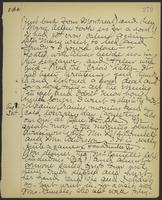 May Bragdon Diary, August 30, 1901 – August 31, 1901, p. 279