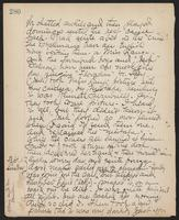 May Bragdon Diary, August 31, 1901 – September 1, 1901, p. 280
