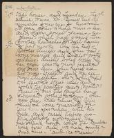 May Bragdon Diary, September 17, 1901 – October 3, 1901, p. 286