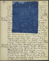 Occluded Image of May Bragdon Diary, July 8, 1893 – July 10, 1893, p. 155